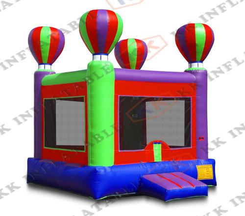 Party backyard bounce Toys Hot Balloon jumping bouncer house(China (Mainland))