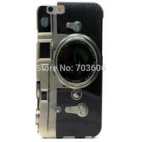 Retro Camera Soft TPU Gel Back Case Cover for iPhone 6 4.7 inch