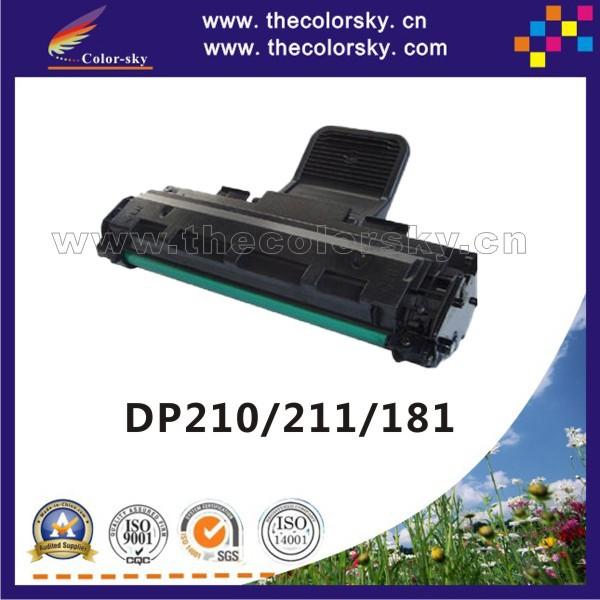 (CCS-X210) тонер-картридж для XEROX DP210 DP211 DP181 DP 210 211 181 DP-210 DP-211 DP-181 CT350103 10 К bk бесплатная FedEx yec ccs pcu