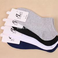 12pair/lot  2014 Hot Sale Free shipping fashion Men's Plain cotton Sock