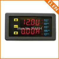 90V 200A Protection Battery Tester Ammeter Voltmeter Meter Power Time Capacity Tester Multimeter LED Display