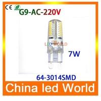 1pcs G9 LED Bulb 220V 6W 7W 9W LED Lamp G9 SMD 2835 electronic 2015 new CREE LED light 360 degree Beam Angle led spotlight lamps