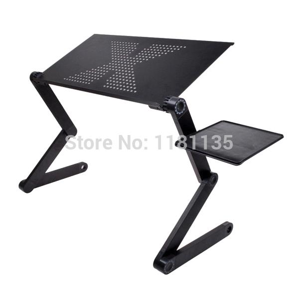 360 graus ajustável dobrável portátil notebook pc mesa mesa exalados car