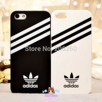 Fashion Adi Logo Sports Brand Cover Hard Case For iphone 5 5s   For iphone 5 5s Hard Case Hot