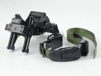 Airsoft Helmet,Sports Helmet Rhino NVG PVS-7 14 Night Vision Goggle Mount Kit With Head Strap for MICH Helmet BK