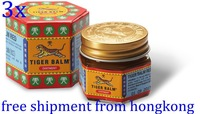 3 x Red TIGER BALM ointment Herbal Wax Muscles Massage Pain Relief insect bites