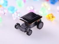 5pcs 2014 New Mini Solar Car Kit World's Smallest Solar Powered Car Children Best Gift size 33mm x 22mm x 14mm
