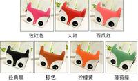 2014 Fashion Package mailed naughty cute little fox cartoon head single shoulder bag of PU leather bag raccoon dog female bag