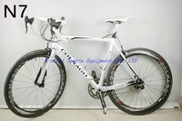 2014 New Model colnago c59 N7 triathlon bike road bikes carbon fibre complete carbon fiber mountain bike LOOK 695 BH G6 M10 C60