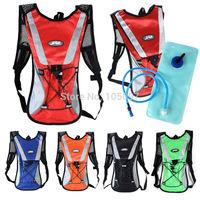 2L Water Bladder Bag Rucksack Cycling Hiking Camping Pack Backpack Free Shipping 1pcs/lot