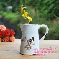 zakka French imitation enamel do the old ceramic pots,succulents fashion creative home accessories,free shipping