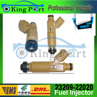 Free Shipping High Quality Genuine Original Toyota Fuel Injectors OME: 23209-22020 Sale