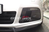 Volkswagen VW Golf MK6 R20 Carbon Fiber Fog Light Cover Lamp Mask
