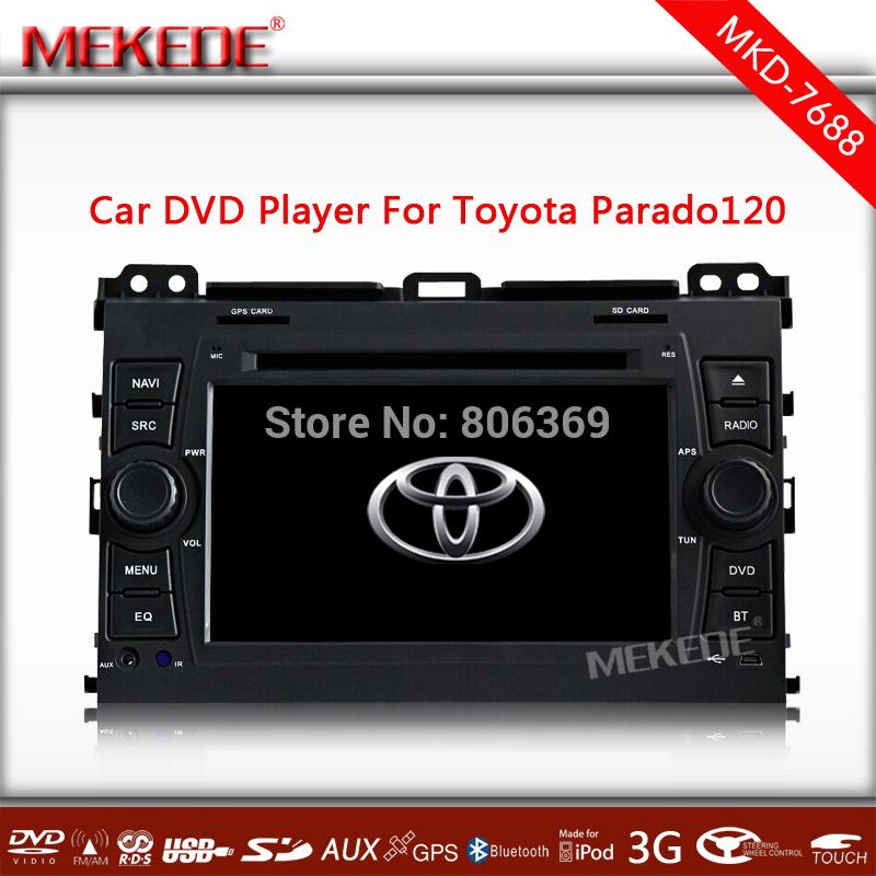 Автомобильный DVD плеер MEKEDE/OEM 7 Toyota Prado 120 2002/2009 DVD 3G WIFI gps/+ автомобильный dvd плеер mekede oem 3g wifi gps dvd rado bluetooth rav4 previa terios vios hilux