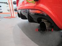 Volkswagen VW Scirocco R Carbon Fiber Rear Bumper Diffuser Rear Lip (Only Fits: Scirocco R)