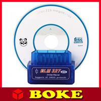 Maike AD0092.2014 Newest Super Smallest!Smart Super Mini ELM327 Bluetooth OBDII V2.1,Elm 327 Bluetooth OBD obdii Can Bus Car dia
