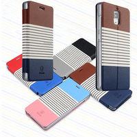 high quality Original Baseus Eden Stripes Stand Smart Cover For xiaomi 4 Wallet Flip Leather Case For Xiaomi MI 4 MI4 M4