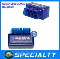 Maike AD0095.2014 newest Version V2.1 Super mini elm 327 Bluetooth OBDii / OBD2 Wireless Mini elm327 Works on Android Torque Fre