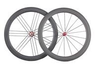700c carbon wheels 56mm clincher 27mm width carbon wheelset basalt surface road bike wheels straght pull W56C