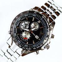 2014 New Curren Brand Fashion Business Man Boy's Waterproof Chronometer Wrist Watches Calendar Analog Quartz Alloy Watchband