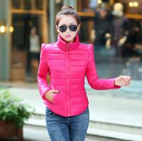2014 new autumn and winter women slim padded collar Slim Down coat autumn influx of women