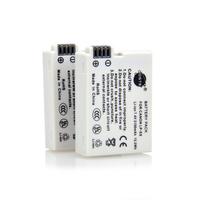 DSTE 2PCS LP-E8 Replacement Li-ion Battery Pack for Canon EOS 550D, 600D, 650D, Kiss X4, Kiss X5