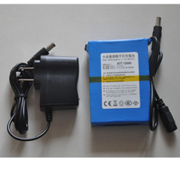 Free shipping New Super DC 12V 6800mAh Rechargeable Lithium-ion Battery Pack For CCTV Camera ATT 12680