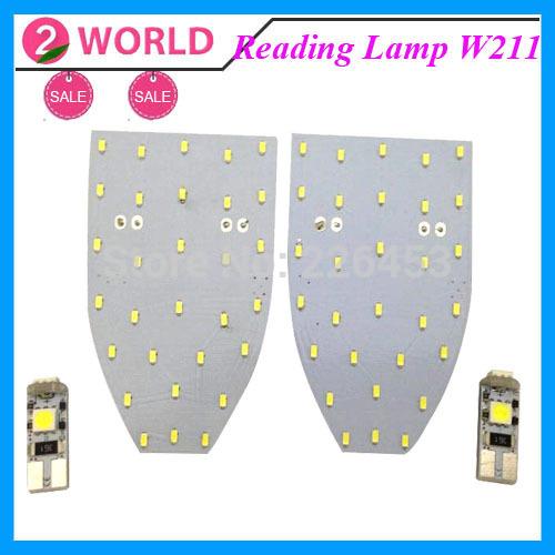 Лампа для чтения 2 world 6000K 12v DC Mercedes Benz W211 kit 07 11 w211 w219 mercedes e63 cls63 рулевое управление насосом насоса 0044669301