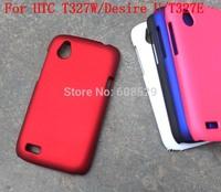 For HTC T327W/Desire U/T327E Original Matte PC Phone shell Cases  ,MOQ 1PCS Free Shipping