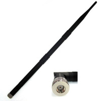Free shipping! 2.4G 9dbi Wifi Antenna RP-SMA connector for Wifi Lan Card Adapter&Router