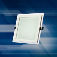 6 inch led square lamp 15W chip LED downlight downlight LED lamps 4 inch square glass patch
