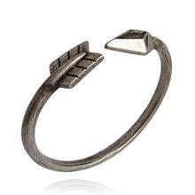 Retro Fashion Popular Vintage Cupid Arrow Bracelet Ancient Silver Bronze Lovers Bangles B139