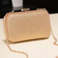 Desigual Shinning Women Hand Bag Chain Purses and Handbags Fashion Designer Handbags High Quality Ladies Day Clutch Bags