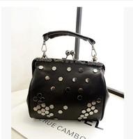 2014 spring and summer new fashion rivet diagonal handbags B1414