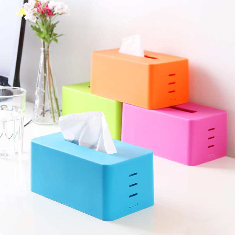 Colores escalonadas cajas de pa uelos base de elevaci n for Caja de colores jardin infantil