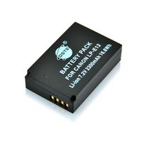 DSTE LP-E12 Replacement Li-ion Battery Pack for Canon EOS M, EOS Rebel SL1, EOS 100D