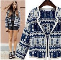 2014 Unique design new hot  stylish and comfortable Wild lace chiffon jacket coat Printed sweet cardigan casual  jacket