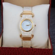 2014 nuevas mujeres relojes relojes de marca de lujo con Color del oro reloj de cuarzo mujeres Rhinestone vestido reloj
