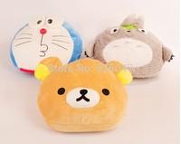 Plush USB Foot Warmer Shoes Soft Electric Heating Slipper Cute Totoro Monkey Doraemon many colors