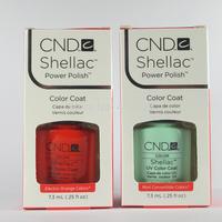2014 New 73 Shellac Colors Available 40Pcs/lot CND Shellac Soak Off UV LED Nail Gel Polish The Best Gel Polish