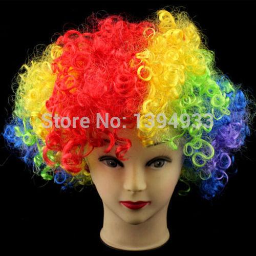 Из чего сделать парик для клоуна своими руками