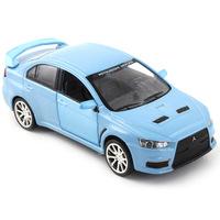 Brinquedos Meninos for  Lancer X -wing Model Car 1:32 Metal Modles Have Pull Back Function Alloy Gift Children Toys