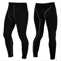 Men's Sports Tight Training Pants Trousers PRO sports and fitness training perspiration wicking pants trousers 1020