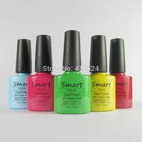 30Pcs/lot Free Shipping Good Quality Soak Off Shellac UV Gel Polish For Salon Nail Gel Total 73colors