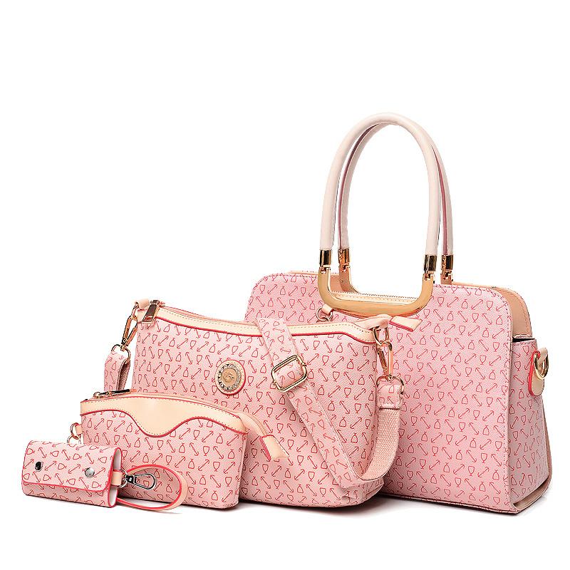 AliExpress.com Product - Four-piece fashion New ladies messenger bags handbags women famous brands designer purses and vintage bag bolsas femininas 2014