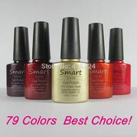 14Pcs/lot Free Shipping Good Quality Soak Off Shellac UV Gel Polish For Salon Nail Gel Total 73colors