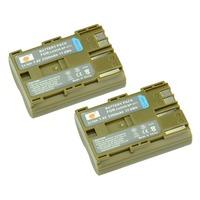DSTE 2PCS BP-511 Li-ion Battery Pack for Canon EOS 10D, 20D, 300D, 30D, 40D, 50D, 5D, D30, D60