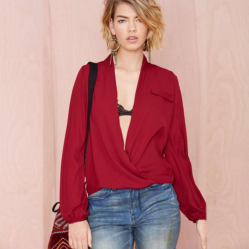 Женские блузки и Рубашки Blouses 2015 V h1051