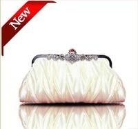 2014 New Fashion Noble Gorgeous EveningParty Ladies Handbag Clutch Shoulder Bag Hand Bridal Bridesmaid Wedding Day Clutches31499