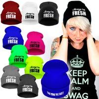 8C Free Shipping Brand New Fashion New FRESH Beanies For Man Women Woolen Knitted Hat Sport Cap Warm Hats Autumn Winter